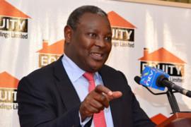 Equity Bank CEO james Mwangi