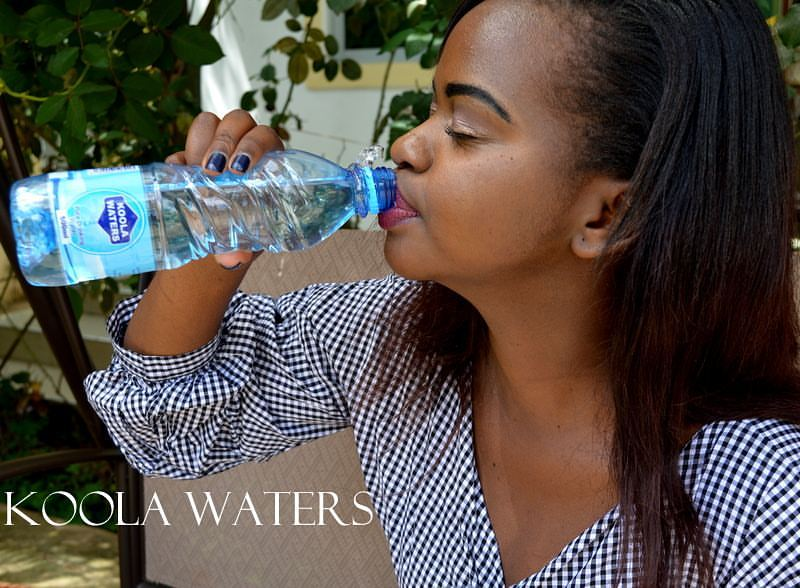 Young lady who has built a strong bottled water brand ...
