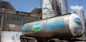 A Brookside truck. The company introduced a quality-based pricing model to boost supply of high-quality milk.