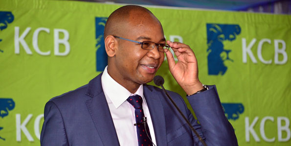 KCB Group CEO Joshua Oigara at a past event.