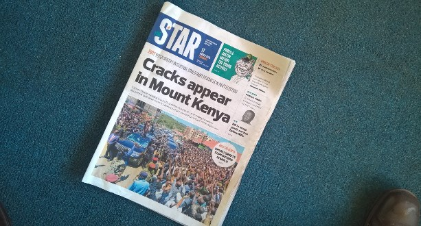 Star-relaunch Star newspaper in crisis as business desk collapses