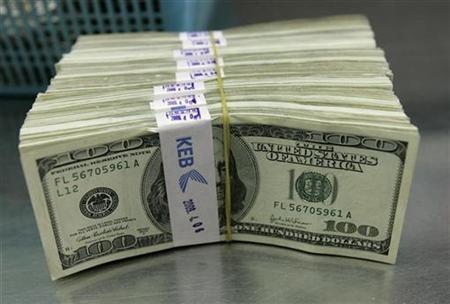 dollar notes bundle