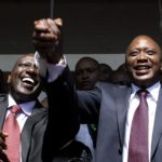 President Uhuru Kenyatta and his deputy William Ruto. Most wealthy families calling the shots in politics have questions over how they made the money. www.businesstoday.co.ke