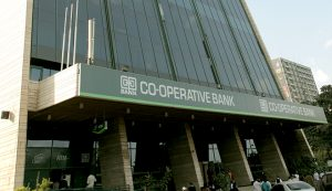 Co-operative Bank headquarters in Nairobi. The bank has introduced a paperless end-to-end account opening process.