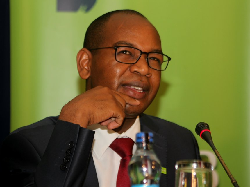 KCB CEO Joshua Oigara at a past event