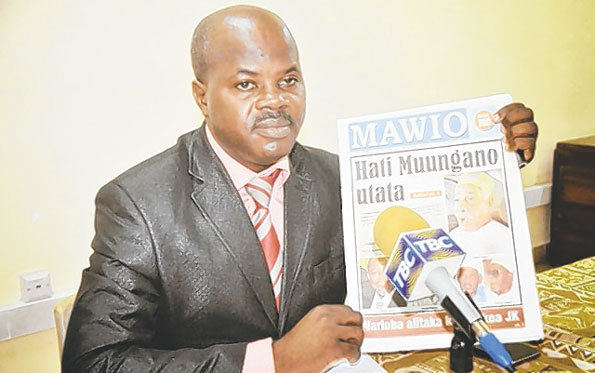 Govt-bans-mawio-newspaper Government bans weekly newspaper for two years