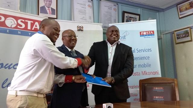 MPOSTA-launch-Posta-Kenya Posta turns mobile numbers into postal addresses