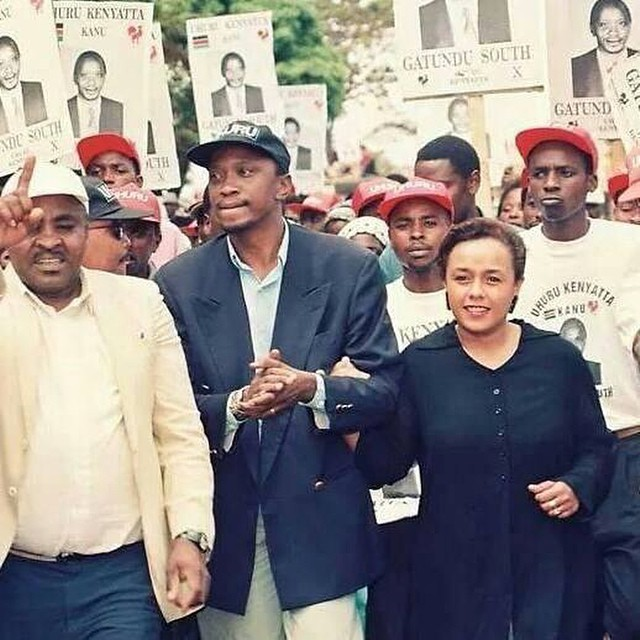 Uhuru-kenyatta-campaigning Untold story of Uhuru's rural home life