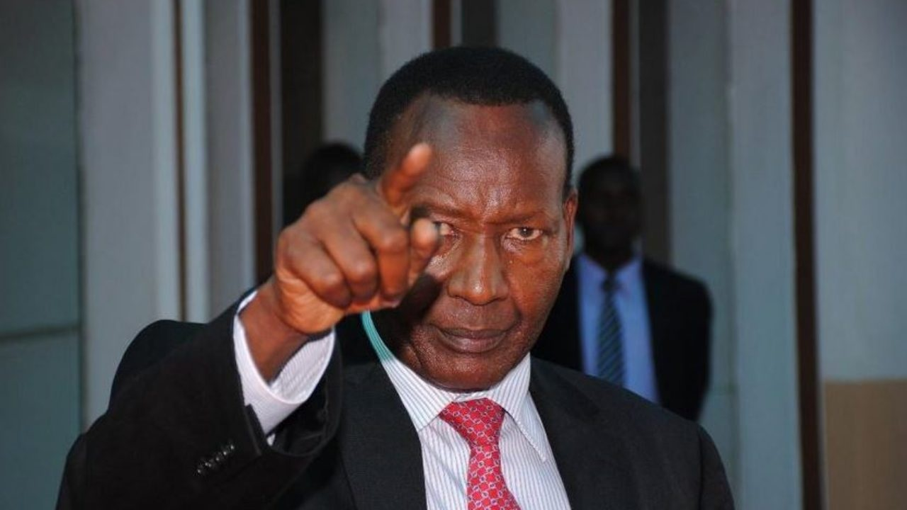 The late Major General (Rtd) Joseph Nkaissery. He died mysteriously prior to the 2017 presidential elections. www.businesstoday.co.ke