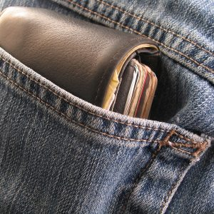 A wallet. Men carry many things in them including surprising items that should not. www.businesstoday.co.ke