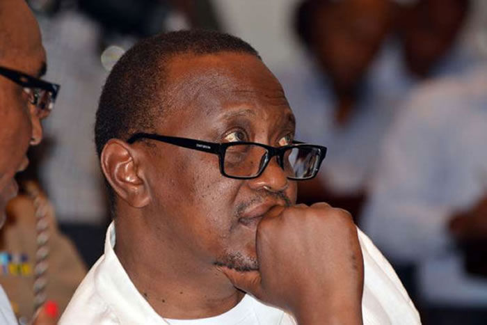 Uhuru-Kenyatta-pensive-mood IEBC set to declare Uhuru winner of  disputed elections