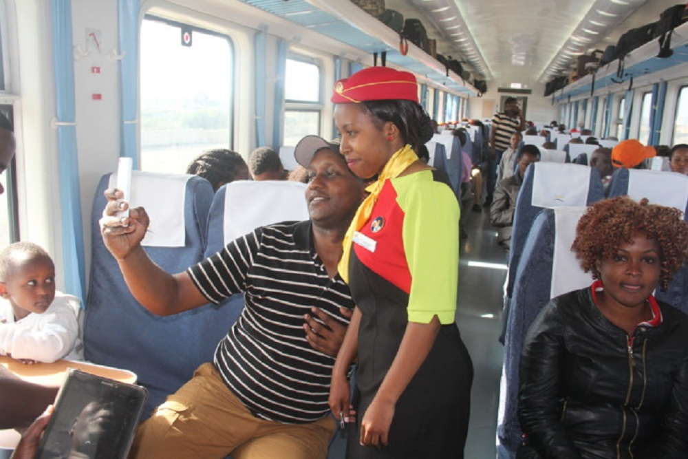 You can now buy Madaraka Express ticket on your phone
