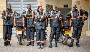 Mitchelle-and-colleagues-300x174 Jumia opens door for female drivers