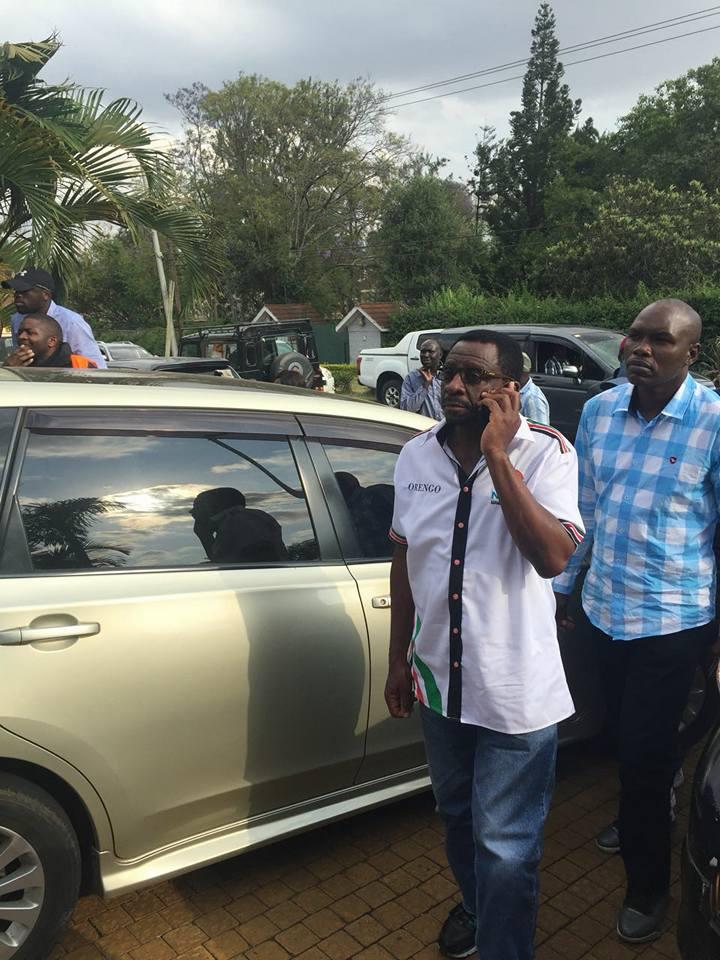 Orengo-Jimmy-Wanjigi-home-in-Muthaiga NASA chief financier under siege