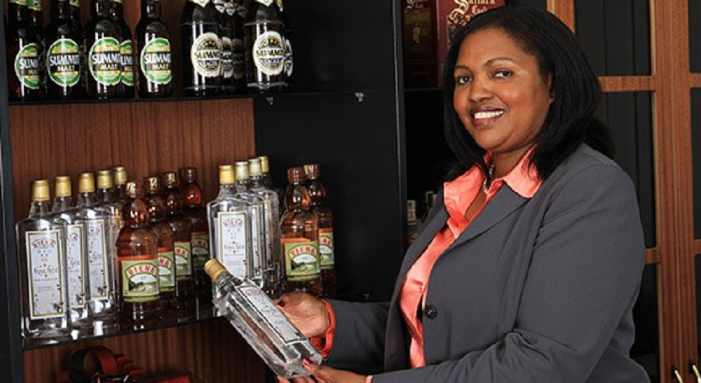 Keroche Breweries CEO Tabitha Karanja, who along with her husband Joseph Karanja, have been arrested on August 22 on suspected tax fraud. www.businesstoday.co.ke