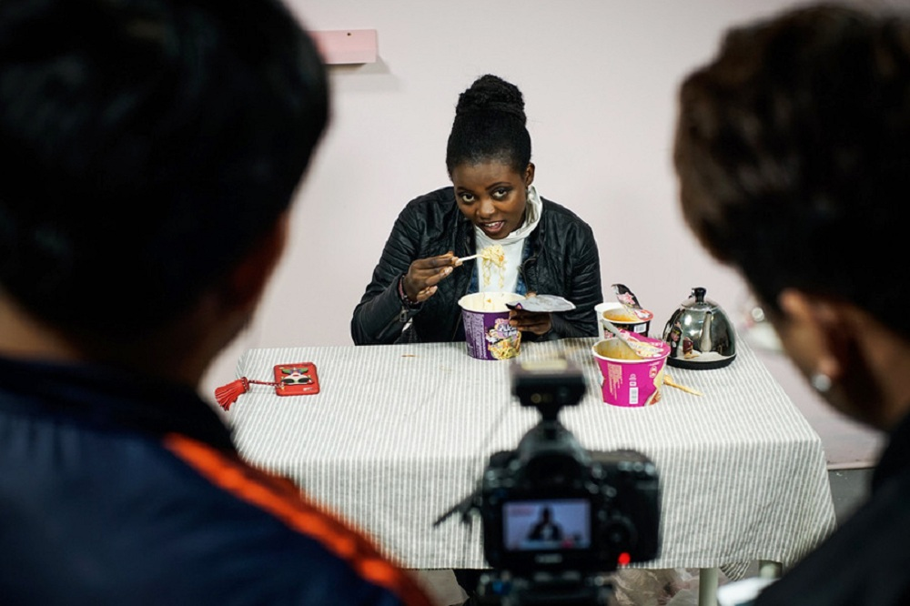 Kenyan student in China share internet celebrity economy