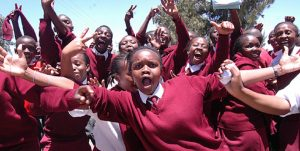 Moi Kabarak High School students sing in celebration after it produced the top KCSE candidate on February 28, 2011. Kenyan workers receive more education than they did in 1990. The Education ministry has proposed ways to control re-entry and discourage pregnancy in schools www.businesstoday.co.ke