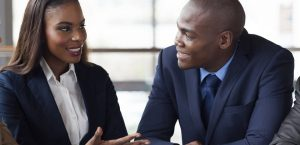 Discussing business needs people. There are smart ways of dealing with difficult people. www.businesstoday.co.ke
