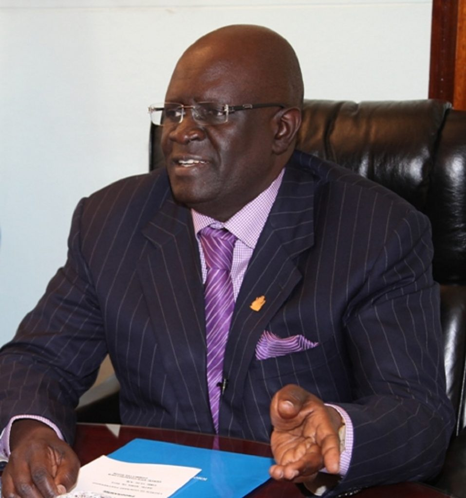 Education CS Prof George Magoha. He has been the KNEC chairman which is minting millions by just releasing examinations results on SMS. www.businesstoday.co.ke