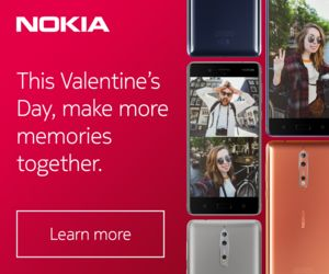 Nokia 8 - Share Both sides of the story.