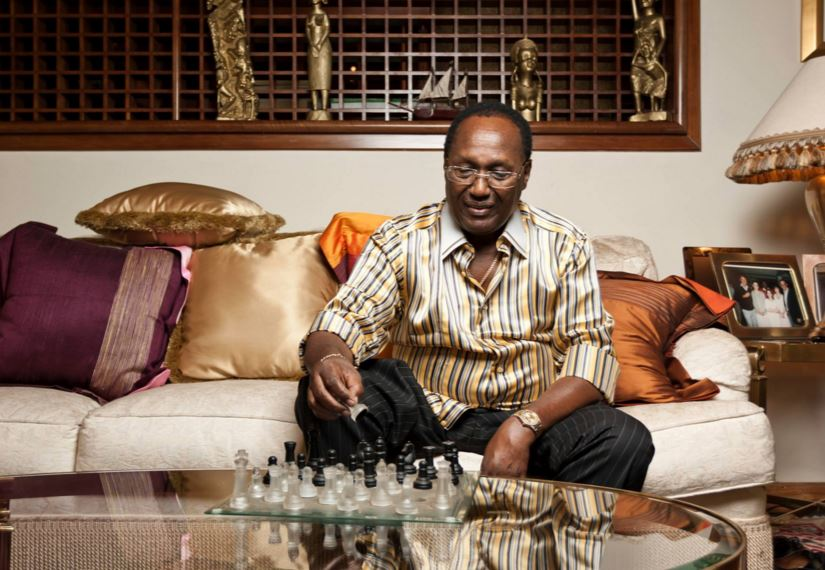 File image of billionaire investor Chris Kirubi