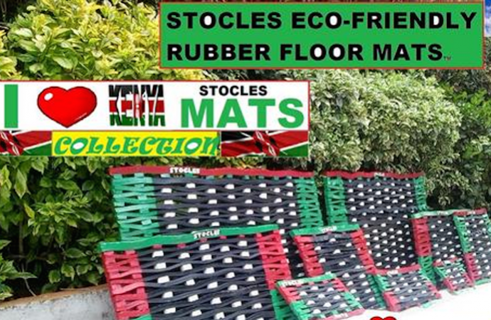 Stocles-Mat-Solutions Computer scientist makes eco-friendly floor mats from old tyres