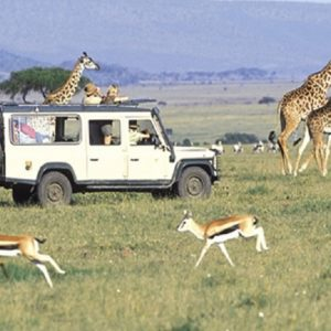 Tourists viewing the wildlife www.businesstoday.co.ke