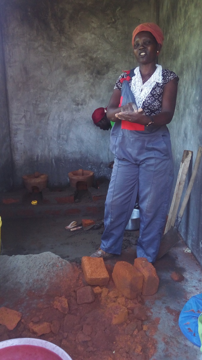 Millicent-Anyango-Jiko-stove-maker Mother who relies on jiko making to run a family of 8