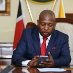 Nairobi Governor Mike Sonko. He says his administration shall not condone or tolerate any form of corruption, incompetence or lethargy that may jeopardize the lives of, or negatively affect service delivery to, Nairobi residents in any way whatsoever. www.businesstoday.co.ke