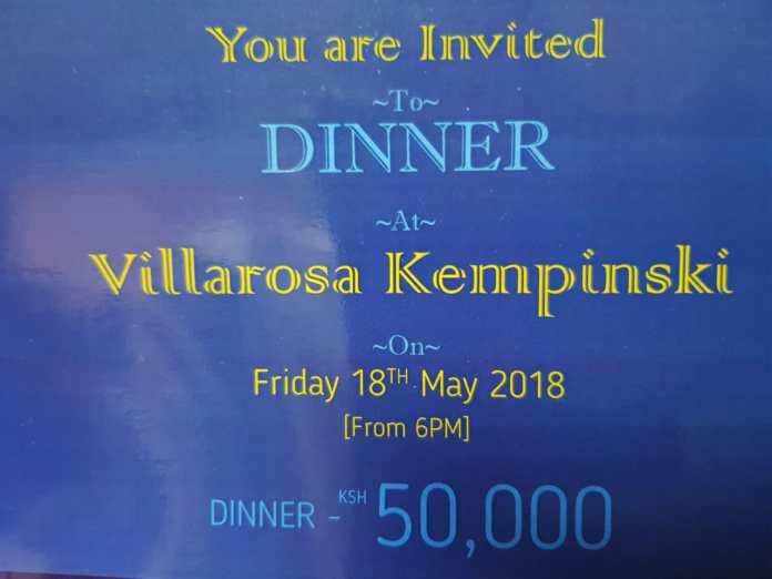 Louis-Otieno Louis Otieno to hold Sh50,000 per plate fundraiser