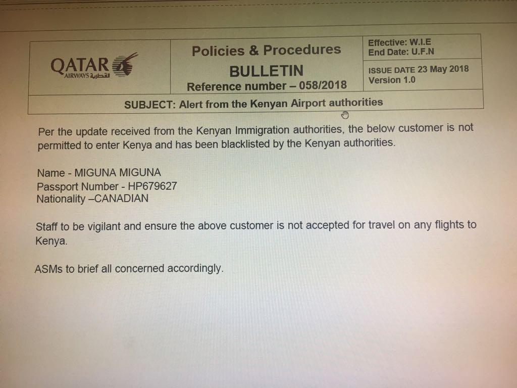 Miguna-3 Kenya now blacklists Miguna Miguna
