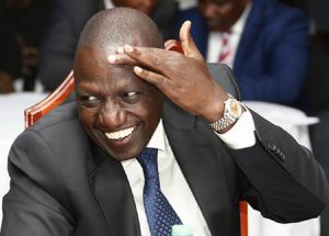 "DP Ruto has called The Star newspaper's front page spread ""fake news"""