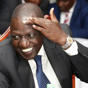 """DP Ruto has called The Star newspaper's front page spread """"fake news"""""""