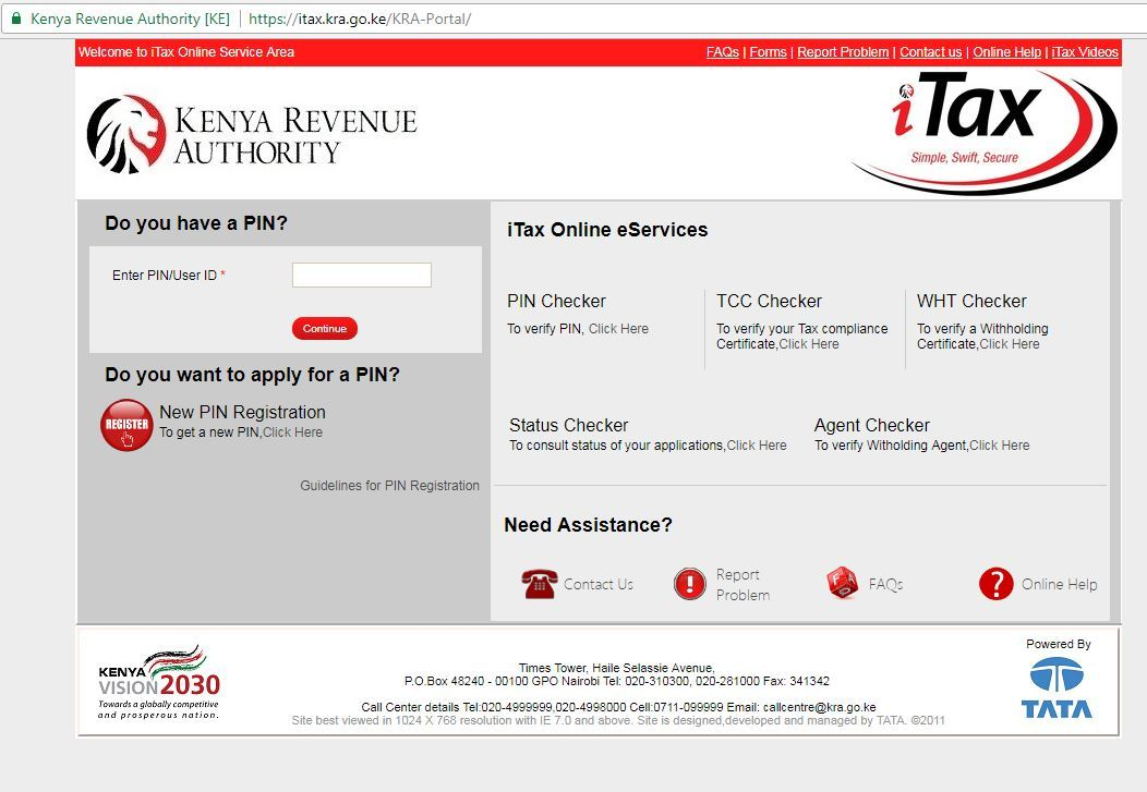 How to apply for penalty waivers using KRA's iTax system