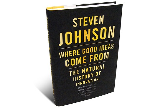Where-good-ideas-come-from 5 inspiring books every entrepreneur should read
