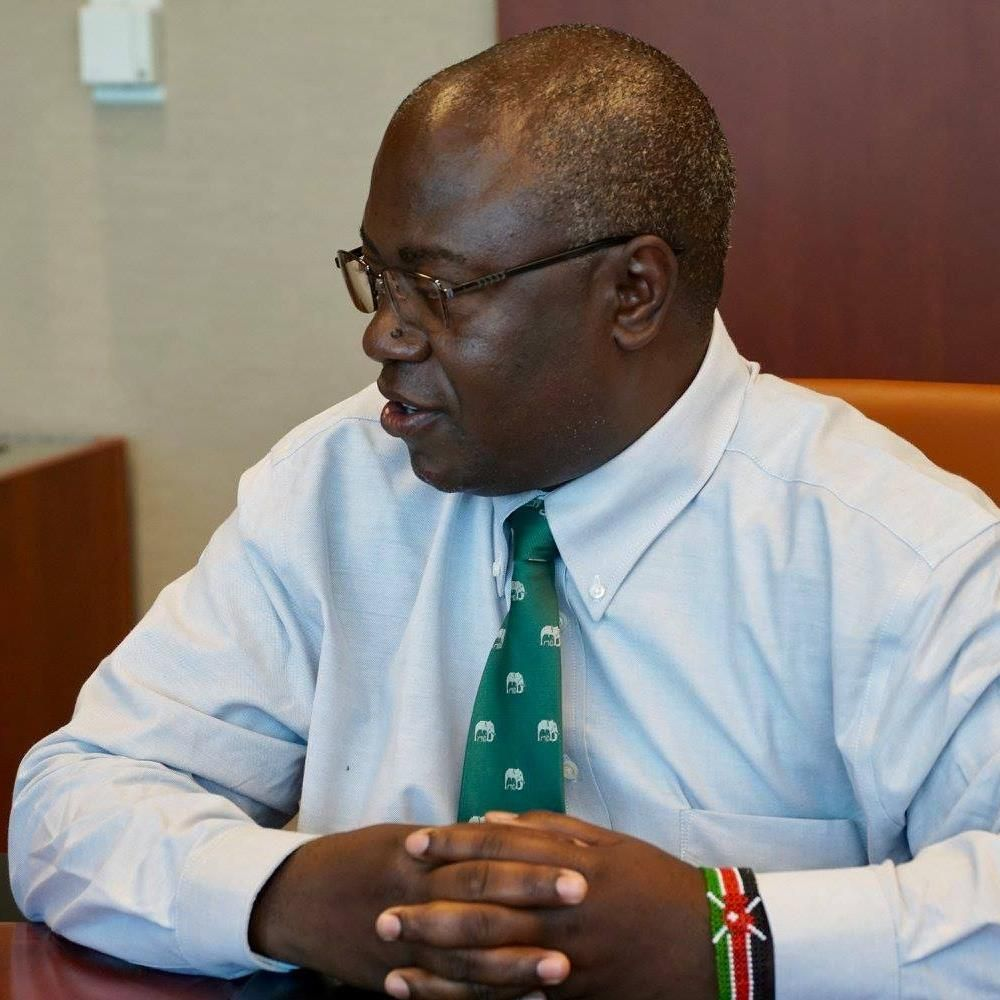 Image result for KWS communications director Paul Udoto