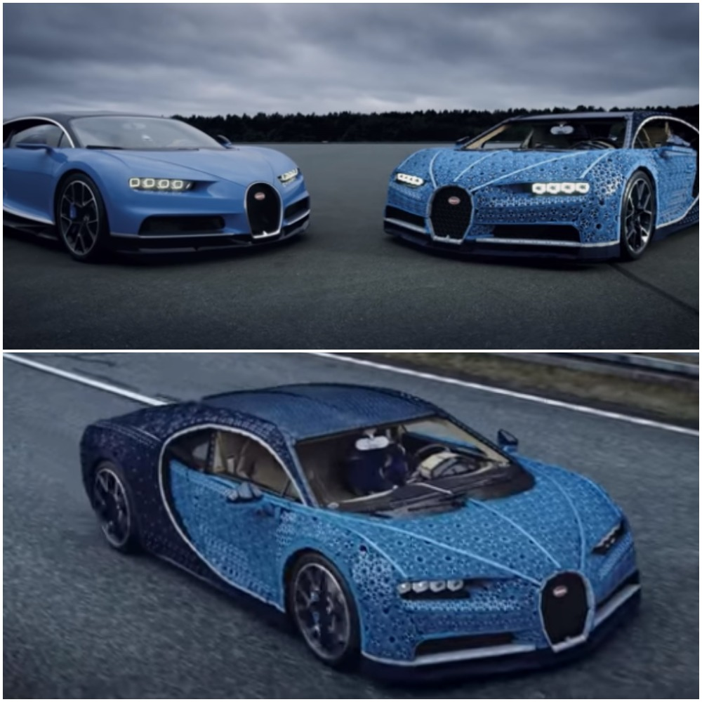 bugatti made of lego parts rides at 19km/h - business today kenya