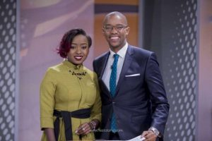 Citizen TV Friday Prime Time co-presenters Jacque Maribe and Waihiga Mwaura. They are now worlds apart following investigations into the Monica Kimani murder. www.businesstoday.co.ke