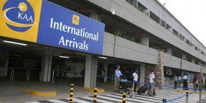 Jomo Kenyatta International Airport (JKIA) International Arrivals terminal. The airport is second-fastest growing airport in the world. www.businesstoday.co.ke