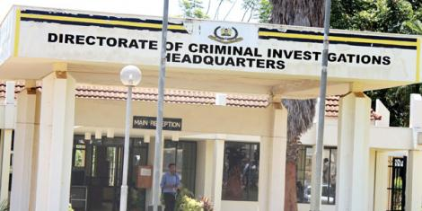 The Directorate of Criminal Investigations (DCI) headquarters on Kiambu Road. The Directorate has issued an advisory to Kenyans regarding the ownership of electronics including phones. [Photo/BT]