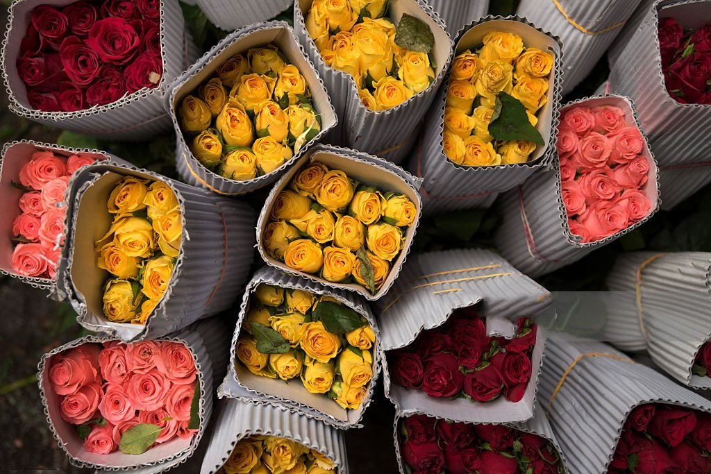 Kenyan flowers packaged for export. Kenya has sent over 300 bouquets of flowers to London, United Kingdom. www.businesstoday.co.ke