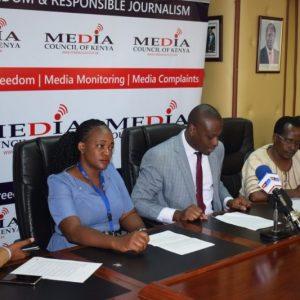 Kenyan journalists
