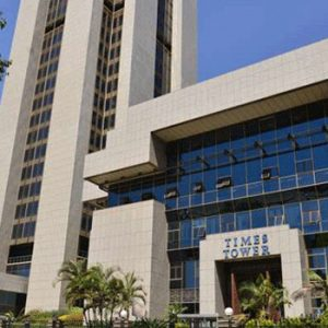Times Tower. The KRA headquarters in Nairobi