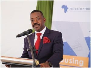 Shelter Afrique Chairman Mr Daniel Nghidinua