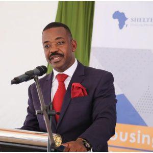 Shelter Afrique Chairman Mr Daniel Nghidinua
