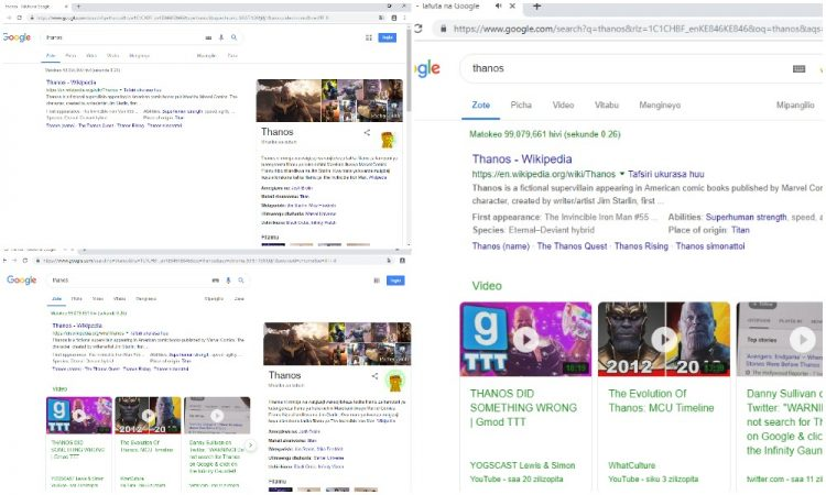 Thanos 'snap' wipes out half of Google results - TECHNOLOGY