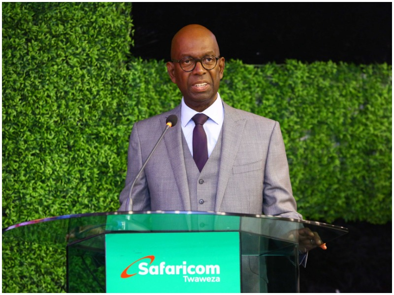 Safaricom CEO Bob Collymore NSE