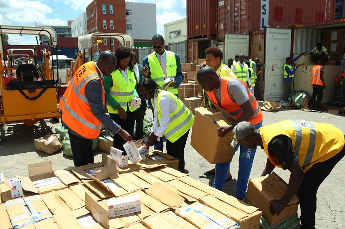 Counterfeits Worth Over Sh100m Seized In One Month