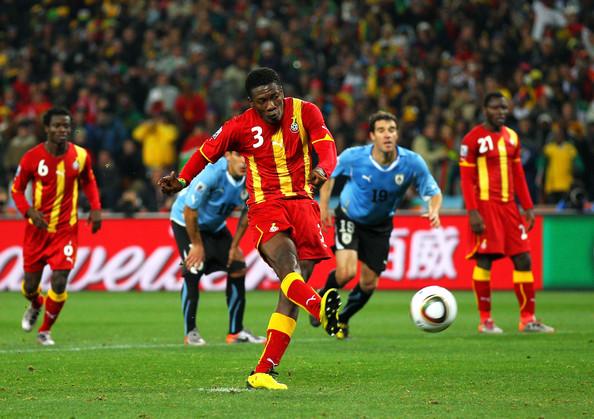 Asamoah Gyan AFCON