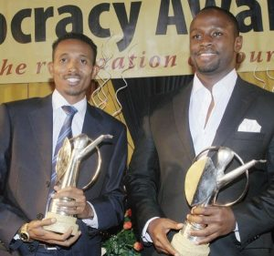 Mohammed Ali, aka Jicho Pevu and John Allan Namu are set to syndicate content for TV47.
